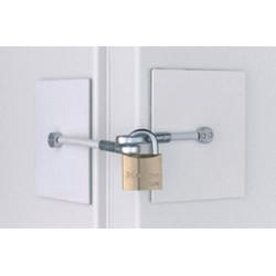 333-055 High Security Refrigerator Lock (No Padlock Included)