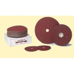 """Bulldog Fasteners AO412 Aluminum Oxide Fiber Discs, Size- 4-1/2"""" x 7/8"""""""