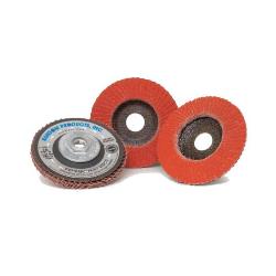 "Bulldog Fasteners FDC 4-1/2"" X 7/8"" Ceramic Flap Wheel"