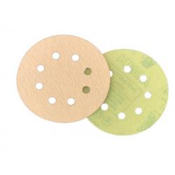 "Bulldog Fasteners HL5X, (5"" X 8) Hole Hook And Loop Paper Discs"