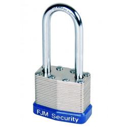FJM Security A389 Laminated Steel Padlock
