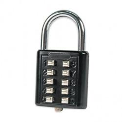 FJM Security SX-579 Push Button Padlock