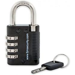 FJM Security SX-575 Patented Locker Lock w/Key Override/Code Discovery