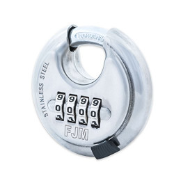 FJM Security SX-790 Combination Disc Padlock