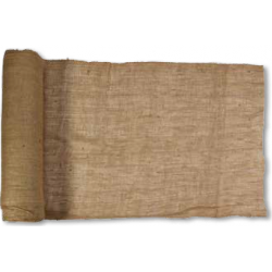 "Mutual Industries 44004-100-48 Burlap Fabric, 100 yds Length x 48"" Width, Natural"