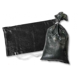 """Mutual Industries 14981-91-14 Black Sand Bags- Extra Heavy Duty, Size- 14"""" X 26"""""""