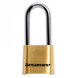 K437 Sesamee Resettable Combination Padlock Carded