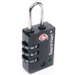 K7400 SearchAlert Resettable Combination Luggage Lock
