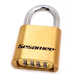 436 CCL Sesamee Resettable Combination Brass Bottom Padlock Boxed*