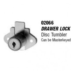 CCL Sesamee 02066 Drawer Lock, Disc Tumbler, CAT60 7/8 US4