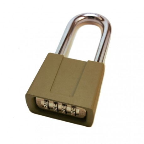 "Sesamee K550 Combination Padlock w/ 2-1/4"" Shackle"