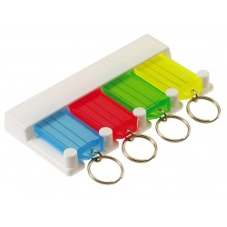 6054 Lucky Line 4-Key Tag Rack
