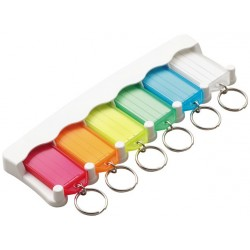 6056 Lucky Line 6-Key Tag Rack