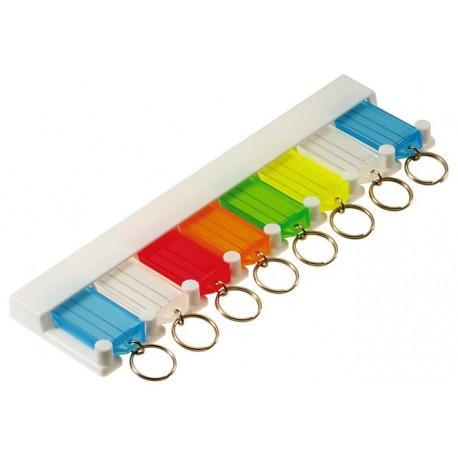 6058 Lucky Line 8-Key Tag Rack