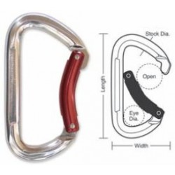 A567 Tough Links Aluminum Carabiner