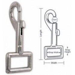 A704 Tough Links Slide Bolt Snap, Strap Eye