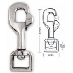 A724 A725 Tough Links Safety Snaps, Swivel Eye