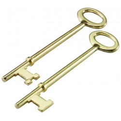 872 Lucky Line Skeleton Keys - 2 carded