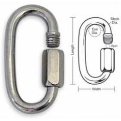 A759 A760 A761 A762 A763 Tough Links Threaded Quick Link Connectors