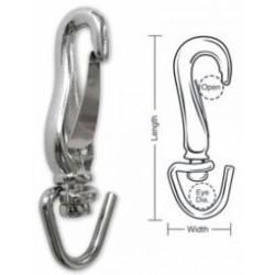 A678 Tough Links All-Purpose Hook, Open Swivel
