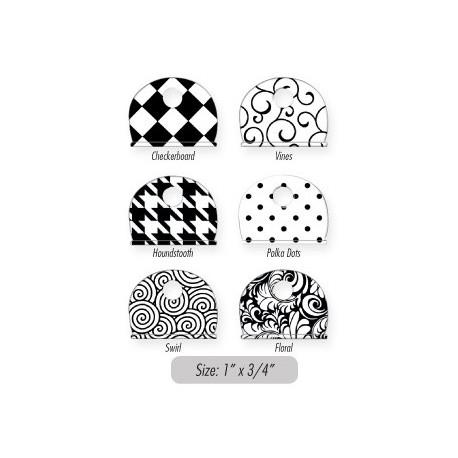 163 Lucky Line Designer Key Caps