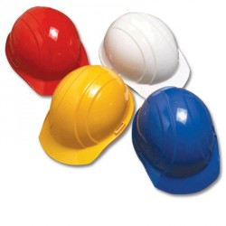 4-Point Pin Lock Suspension Construction Hard Hat / Helmet