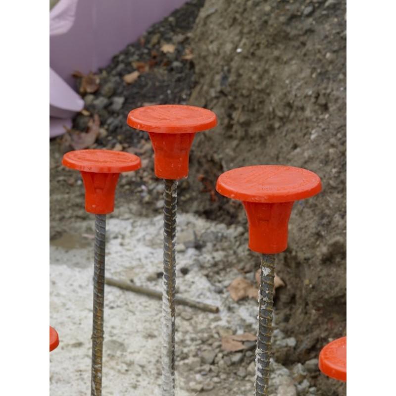 Cs Orange Osha Rebar Caps