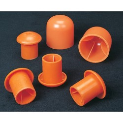 CS Orange Standard Rebar Caps
