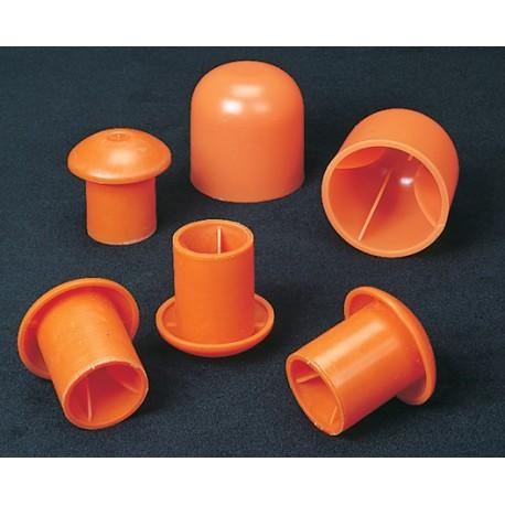 CS Orange Standard Rebar Caps