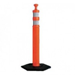 Mutual Industries 17725 Road Safety Channelizer Traffic Delineator Post Top