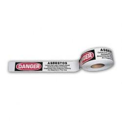 Asbestos or Lead Hazard Warning Caution Tape