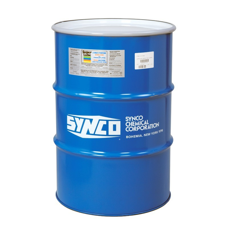 54155 Super Lube Synthetic Gear Oil Iso 150 55 Gallon Drum