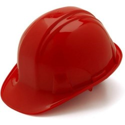 4-Point Ratchet Suspension Construction Hard Hat / Helmet