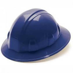 Full Brim Hard Hat with Ratchet Suspension