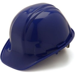 6-Point Ratchet Suspension Construction Hard Hat / Helmet