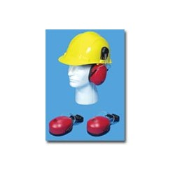 Mutual Industries Hard Hat Mounted Ear Muffs
