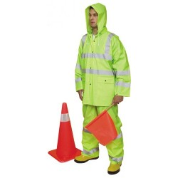 Mutual Industries ANSI Class 3 Three Piece Rain Suit