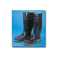 "Mutual Industries 16"" PVC Black Sock Boot"