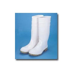 "Mutual Industries 16"" PVC White Sock Boot"
