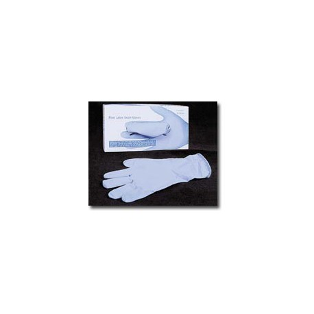 Blue High Risk Latex Gloves (14 Mil)