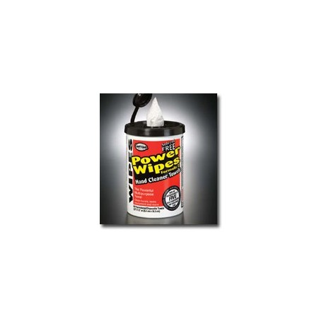 Mutual Industries Heavy Duty Power Wipes Cleaning Wipers with Dispensing Canister