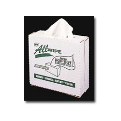 Mutual Industries AllWipe Pop-Out High Quality Cellulose Cleaning Wipes