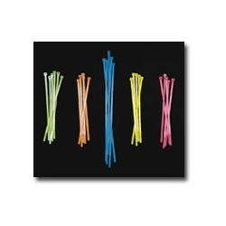 Mutual Industries 14970 Neon Colored Locking Zip Ties