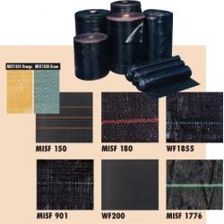 MISF 100' Woven Polypropylene Silt Fence Fabrics