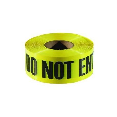 "Do Not Enter, Cuidado, Danger, Peligro 3"" x 1000' Customizable Caution Tape"