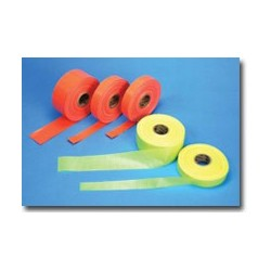 "Glo-Reinforced Barricade Tape 4"" x 50 YDS"