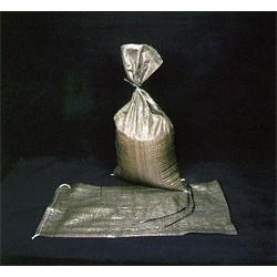 Mutual Industries 14981-39-14 Green Polypropylene Sand Bags with Heat Top Cut & 1600 hour UV Protection