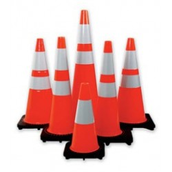 Mutual Industries 17720 High Quality Orange Traffic Cones - Multiple Sizes Available