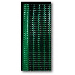 Mutual Industries Green Plastic Barrier Fence 4' x 50'