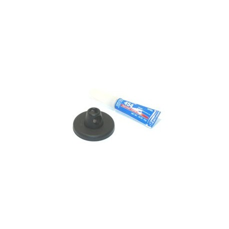 DSC-550 Glue-On Disc with Adhesive